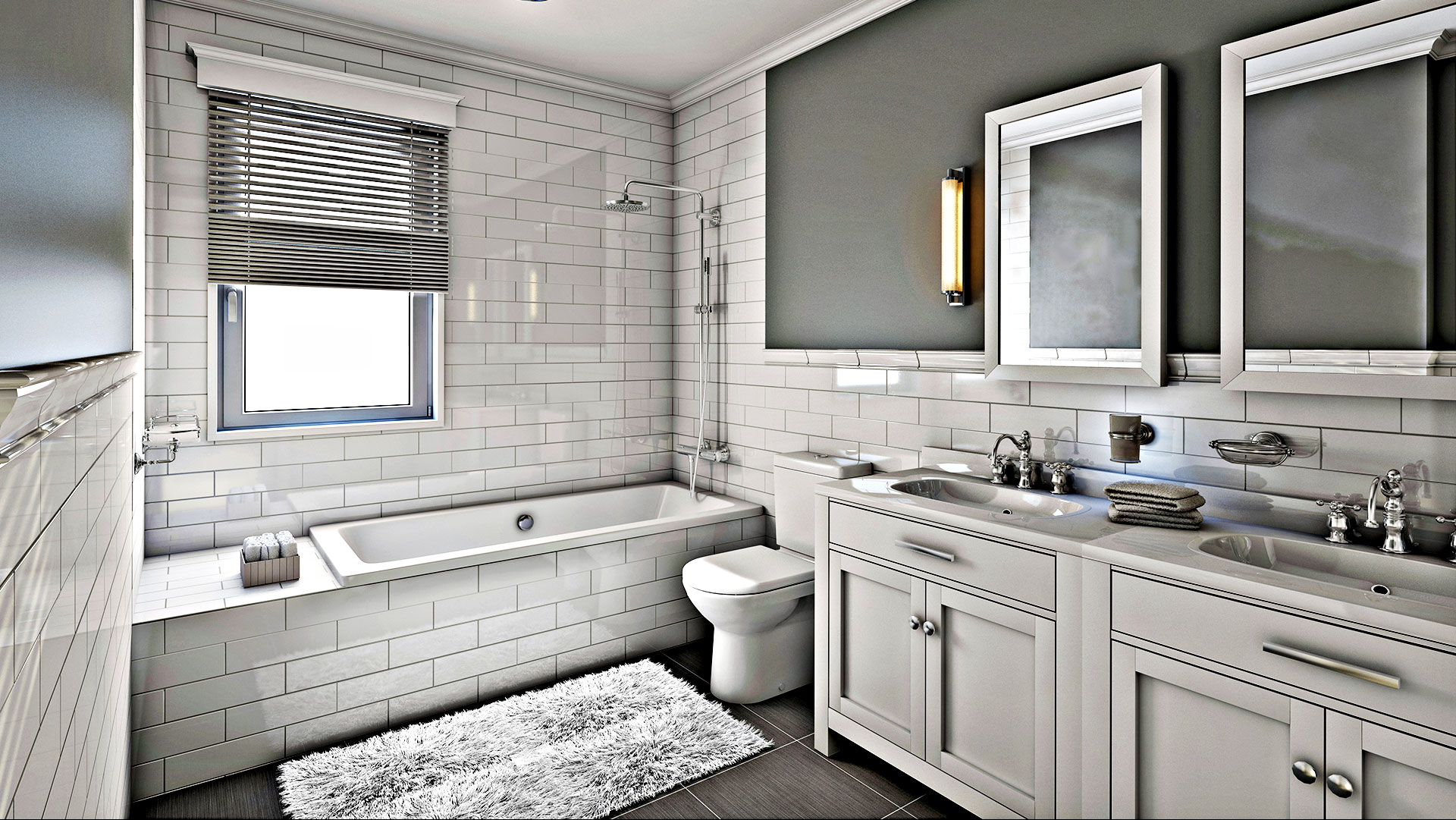 Epic Home Improvements Inc. Remodeled Bathroom